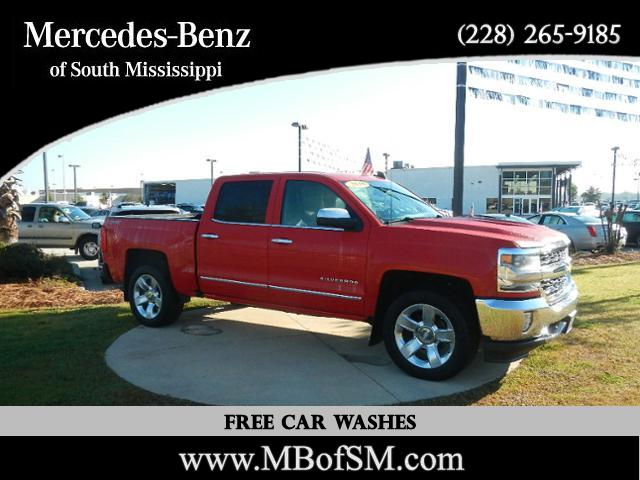 Pre Owned 2016 Chevrolet Silverado 1500 Ltz Crew Cab Pickup In D